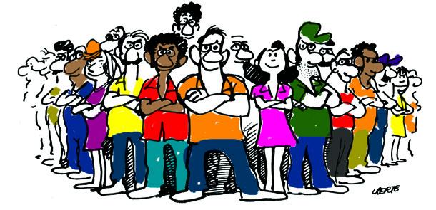 União de trabalhadore(a)s