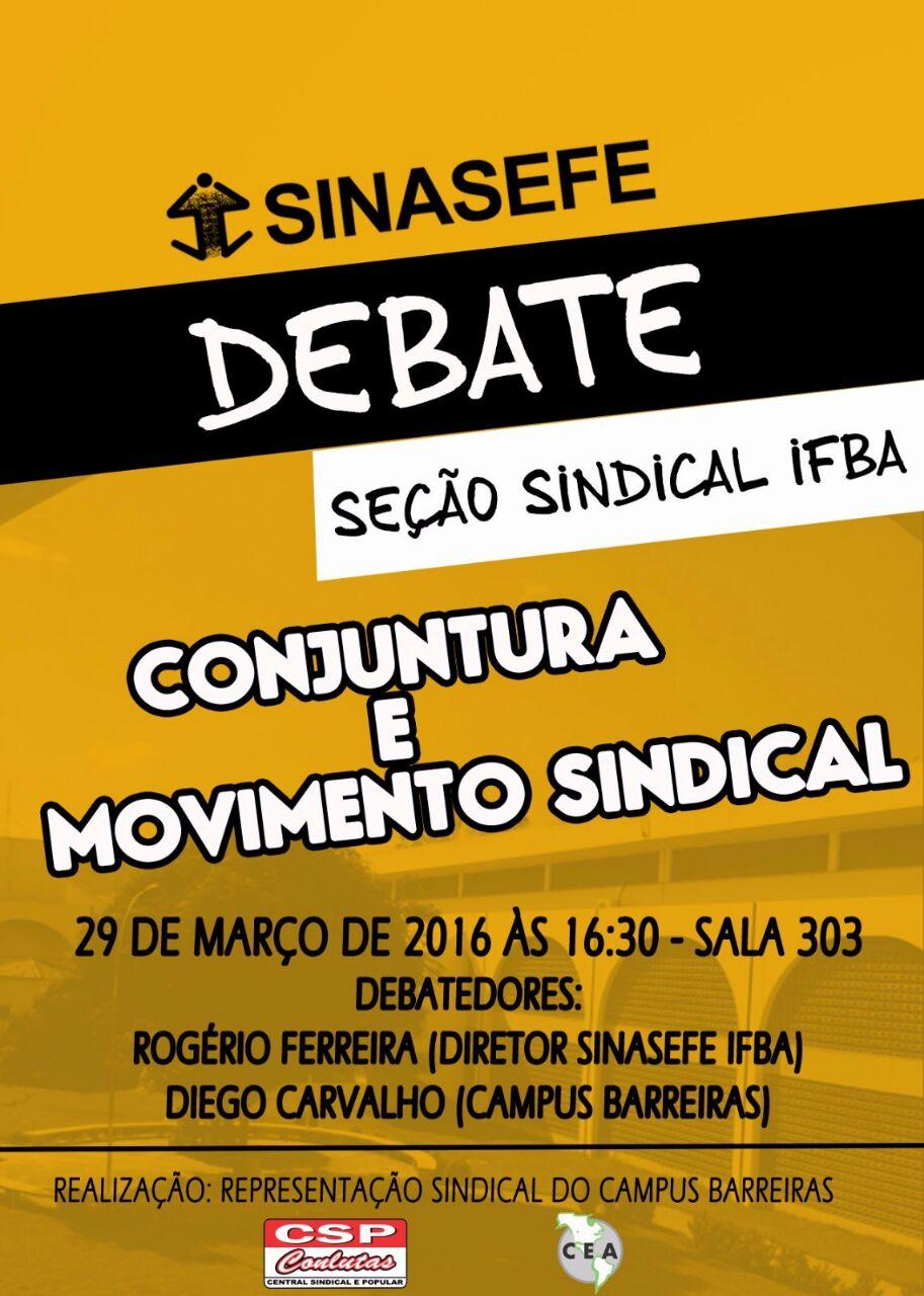 Debate em Barreiras