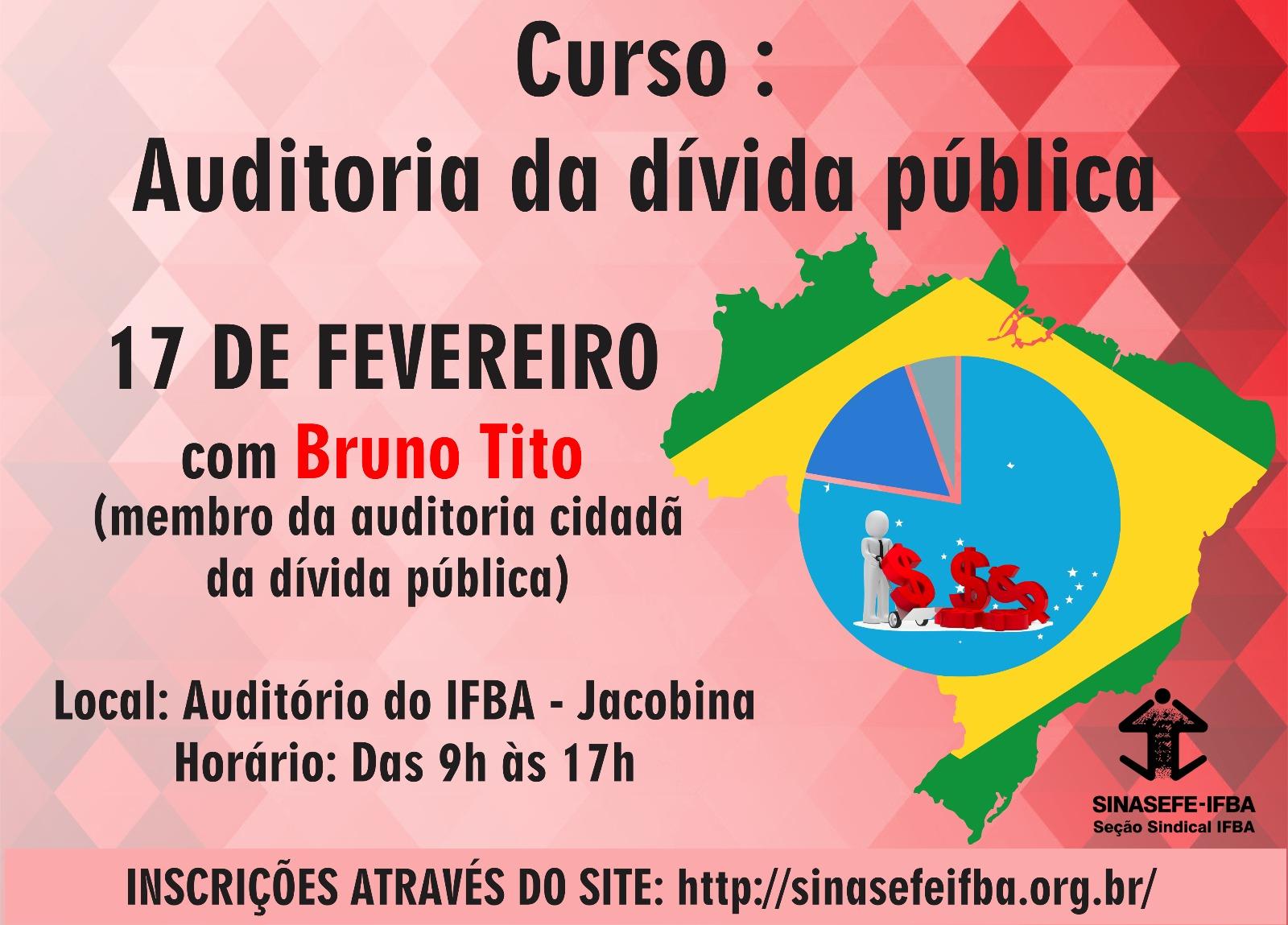 Curso sobre a dívida pública