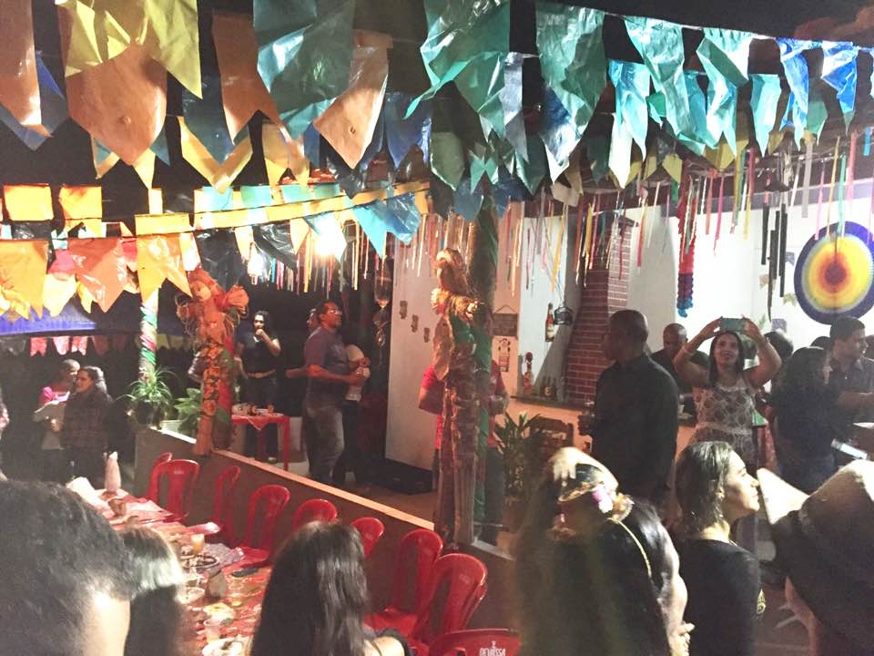 festa em Seabra