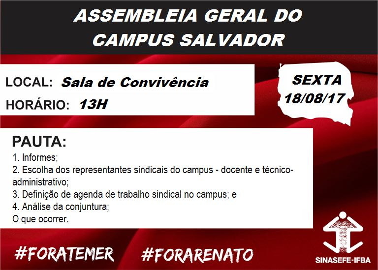 Assembleia Campus Salvador