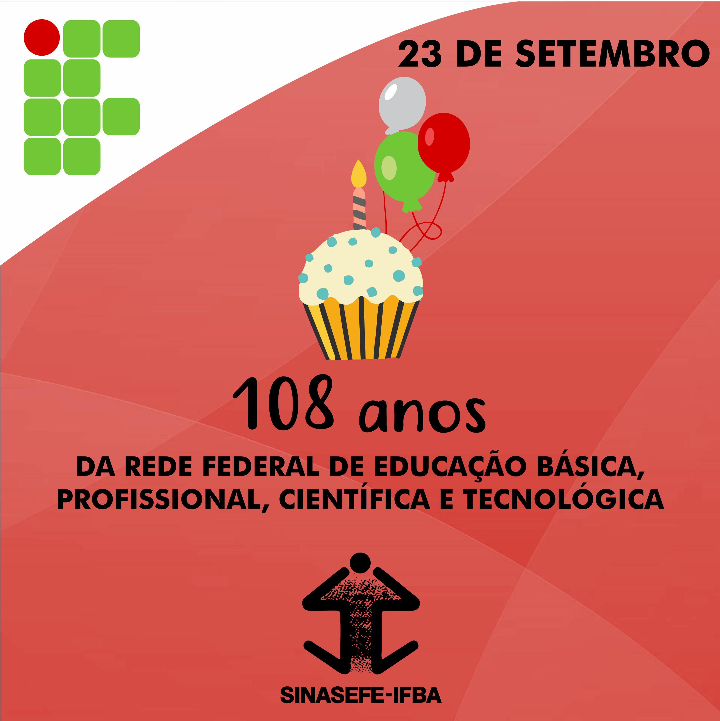 aniversário da rede federal