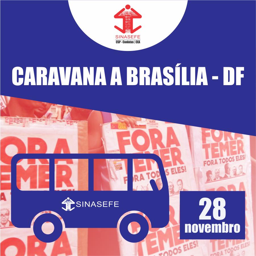 caravana pra bsb 28 de novembro